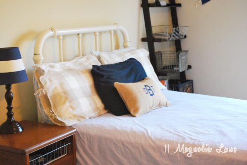 Shopping Auctions, A Bargain Bed Makeover & The Easiest Bedskirt Ever
