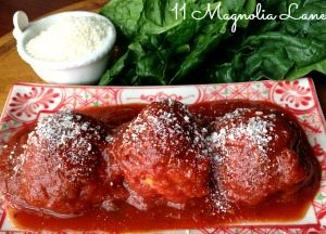 Parmesan Turkey Meatballs- My Mother's Recipe