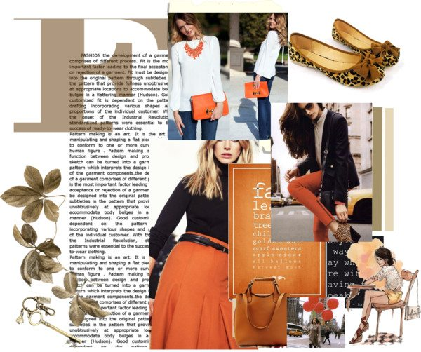 """""""F"""" is for Fall Fashion Inspiration Board"""