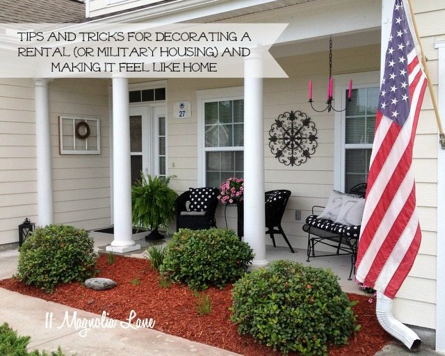 tips tricks decorating rental military house housing. How to Make That Rental House Into a Home 10 Decorating Tips   11