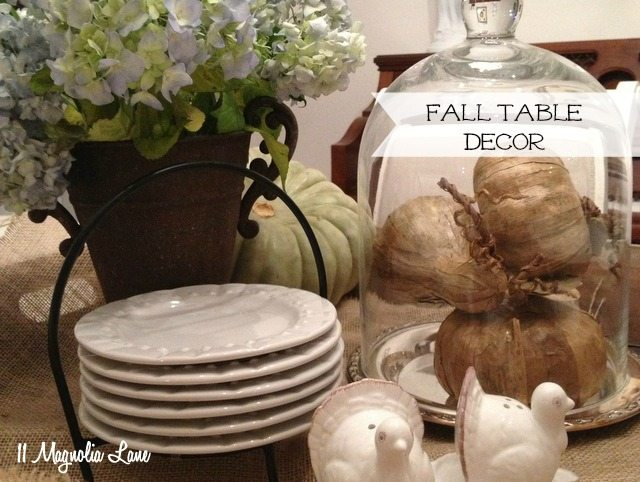 Our New Home: Natural Fall Decor