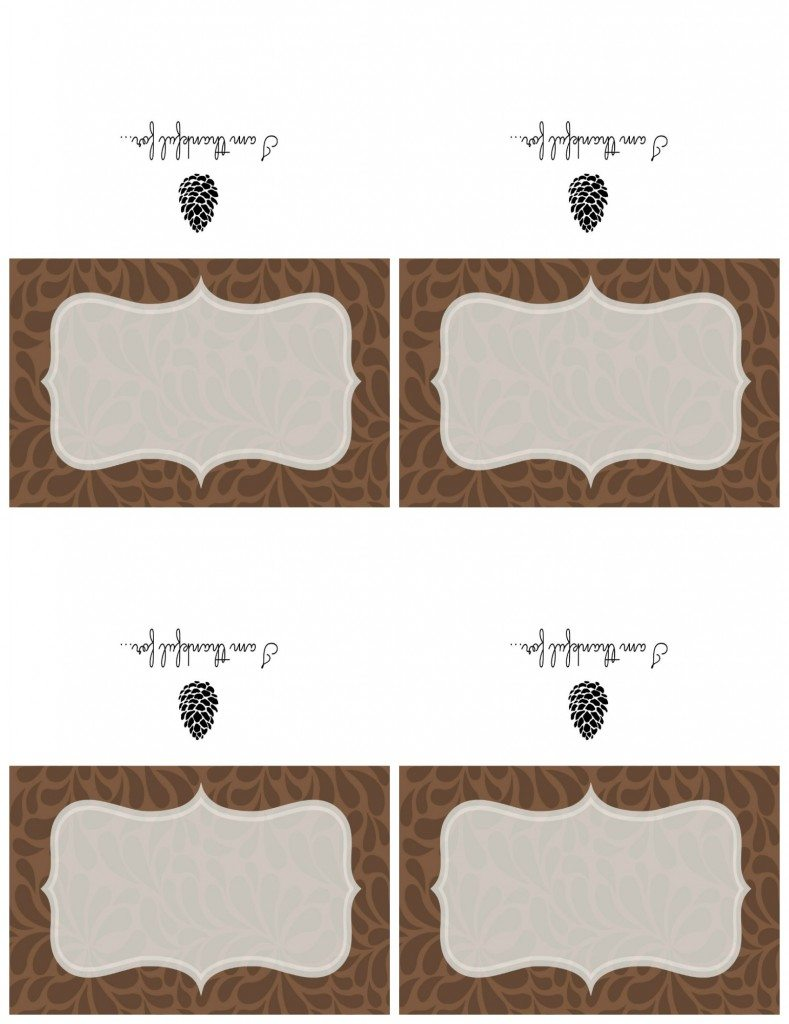 printable thanksgiving place cards chalkboard sign 11 magnolia lane