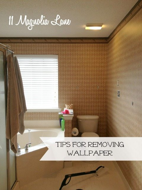 how to easily remove wallpaper tips to make it as