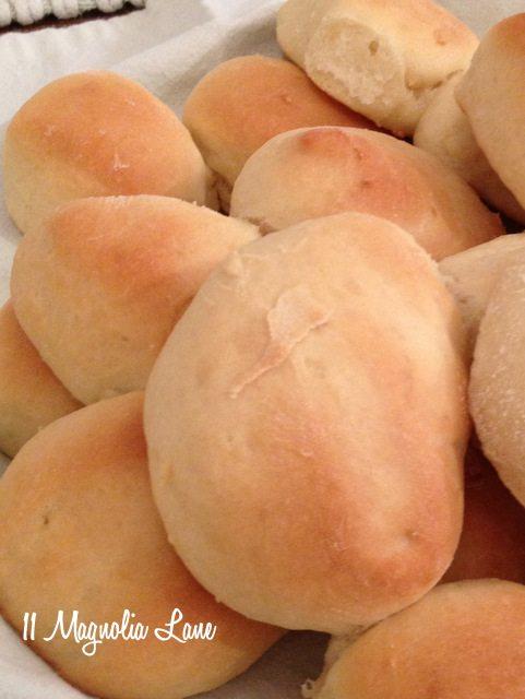 golden yeast rolls baked homemade recipe