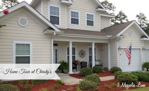 Open House ~ Home Tour at Christy's
