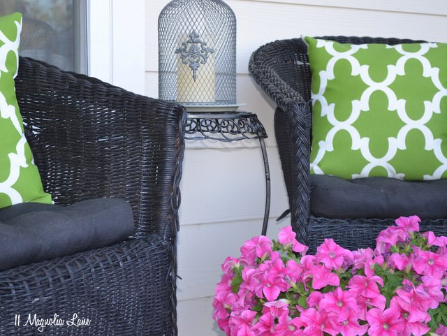 Spray Painting Upholstered Furniture #25: Spray Paint Outdoor Fabric Cushions Pillows Can You