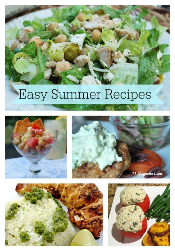 600x836 Easy Recipes Graphic