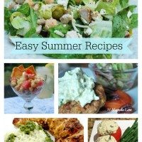 New Easy Summer Recipes