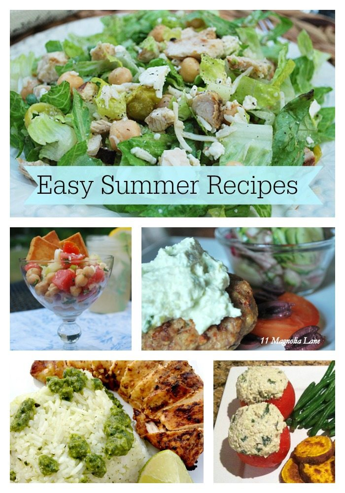 5 Easy Summer Recipes