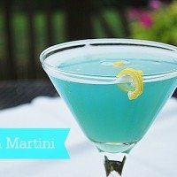 Beach Martini--perfect for sipping on the beach or at the pool this summer