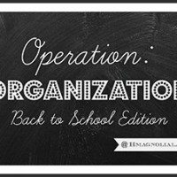 Operation Organization Back to School Edition Series at 11 Magnolia Lane