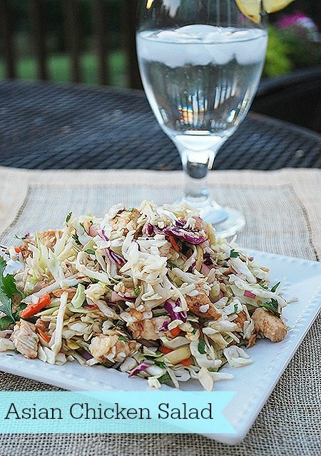 Summer Salad–Asian Chicken Salad