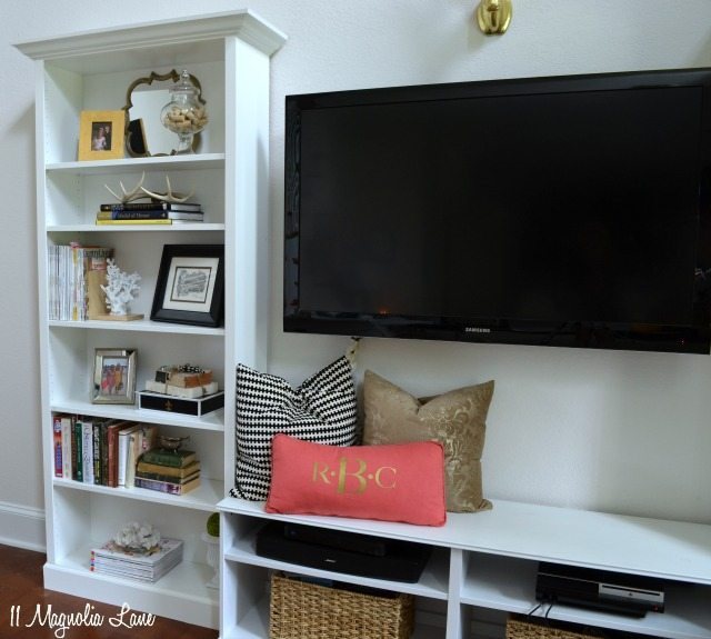 IKEA Billy Built In Shelves TV Unit Part 83