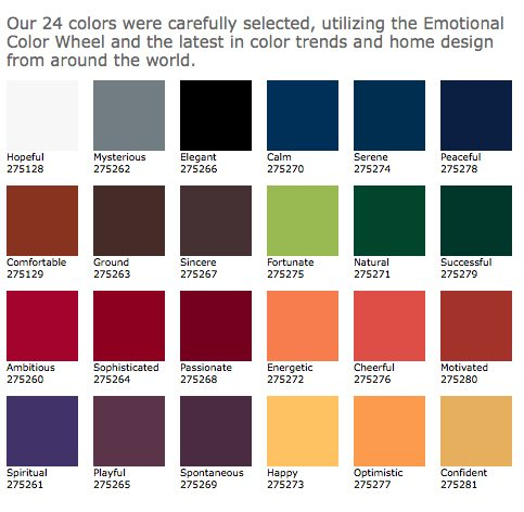 front door paint color palate revised