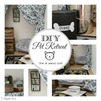 DIY Pet Retreat | 11 Magnolia Lane