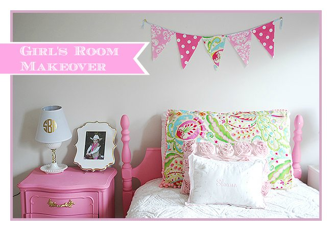 Little Girl\'s Room Decorated in Pink, White & Gold | 11 Magnolia Lane