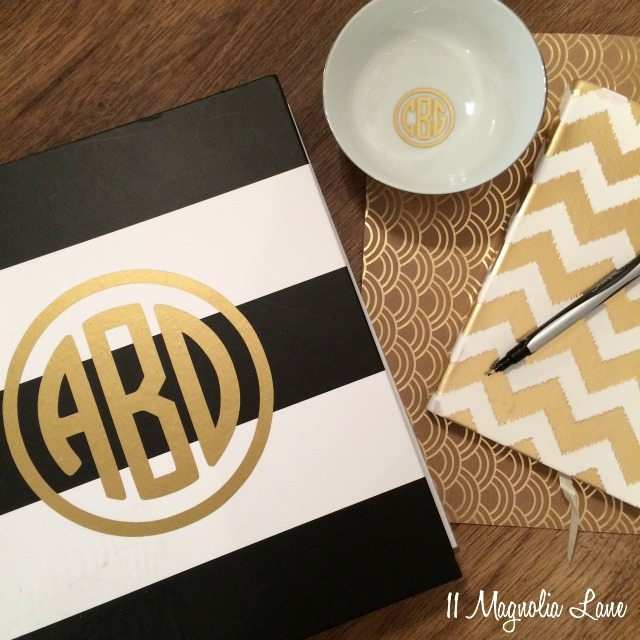 You Can Monogram Anything