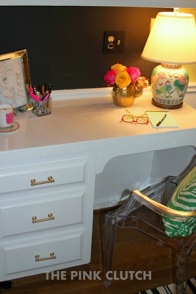 Operation: Organization Glam and Organized Desk Area by The Pink Clutch