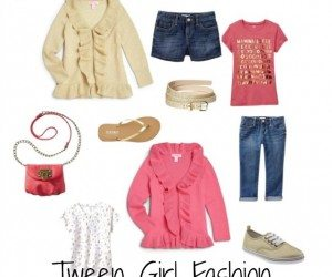 Tween girl fashion--coral pink, gold, and Lilly Pulitzer | 11 Magnolia Lane