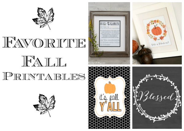 Fall Printables Roundup | 11 Magnolia Lane