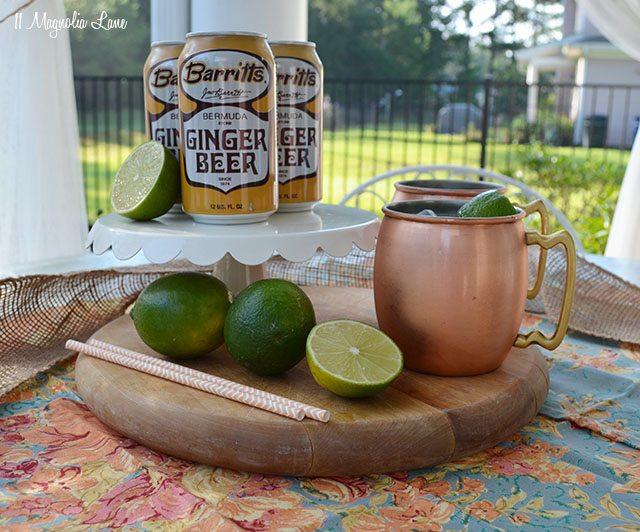 Moscow Mule cocktail recipe ingredients | 11 Magnolia Lane