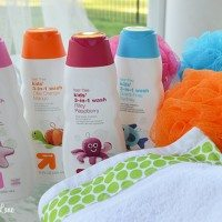 DIY Ribbon-Embellished Kids' Towels and a Bath Time Gift