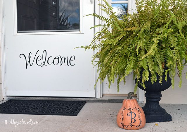 Outdoor Fall Decor Ideas
