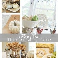 Thanksgiving Tablescape (s)