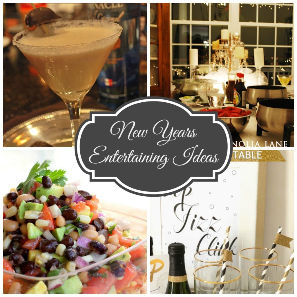 New Year's Eve Ideas for Entertaining