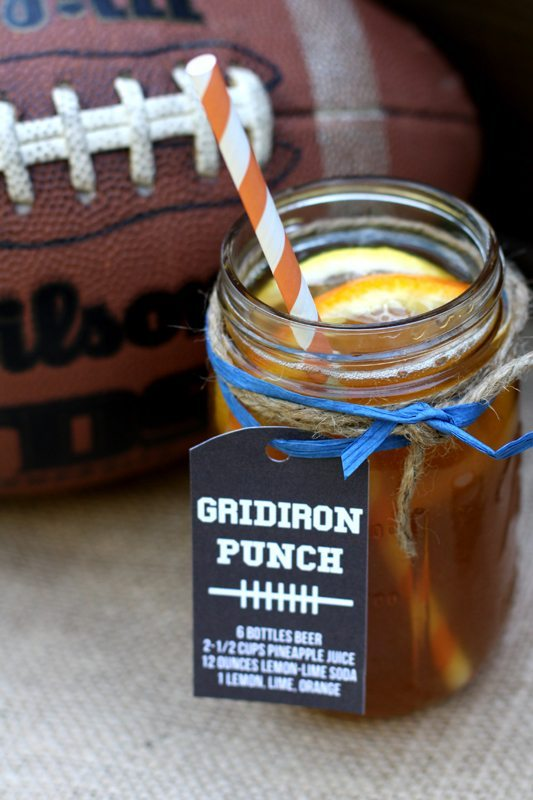 Gridiron Punch for Superbowl by PIzzazzerie