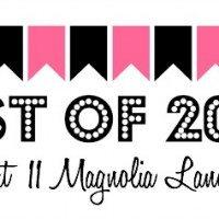 Top 20 Posts of 2014 | 11 Magnolia Lane