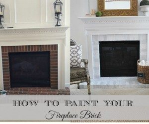 how-to-paint-brick-fireplace