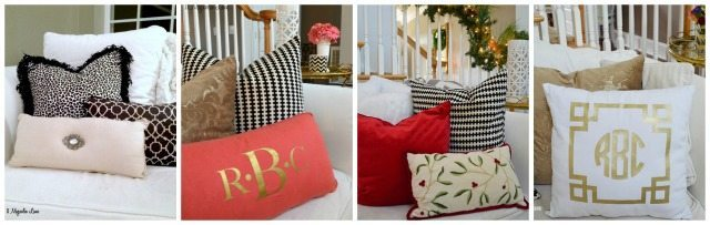 Different throw pillows change the entire look of a room | 11 Magnolia Lane