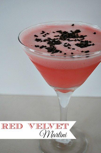 Red Velvet Martini Recipe--Dessert Drink | 11 Magnolia Lane