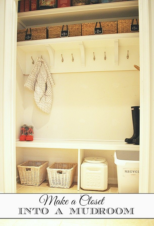 Pin Mudroom Makeover