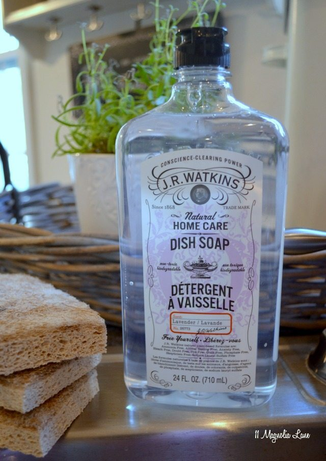 JR Watkins natural dish soap | 11 Magnolia Lane