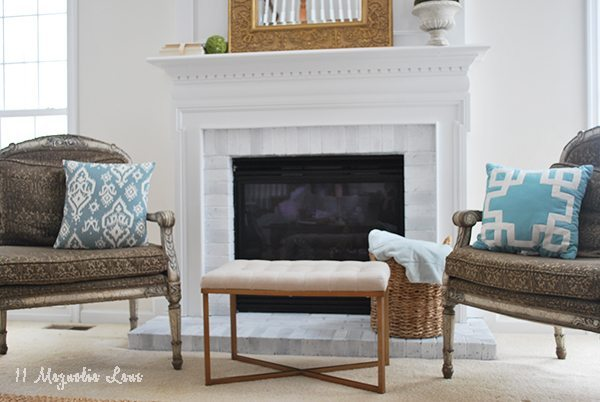 fireplace-blue-pillows-spring