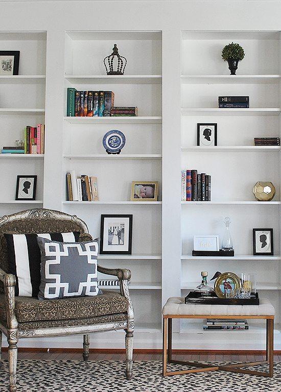 bookshelf styling - Styling Bookcases