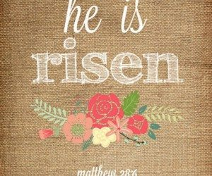 he-is-risen-printable