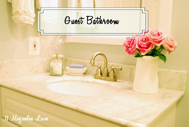Our Guest Bathroom