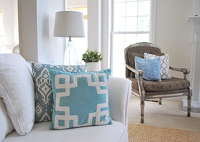Blue and White Accents Indoor Decor