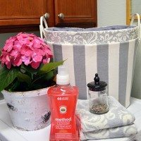 Spring Updates in the Laundry Room