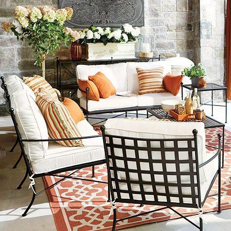 Outdoor Furniture Ballard Castellon Sofa