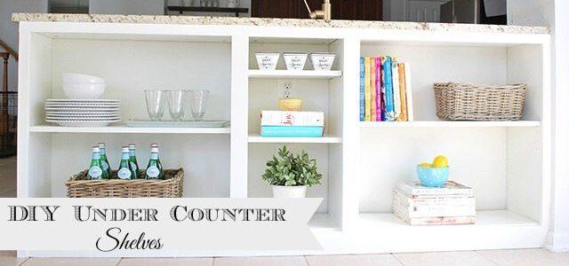 kitchen shelves slider