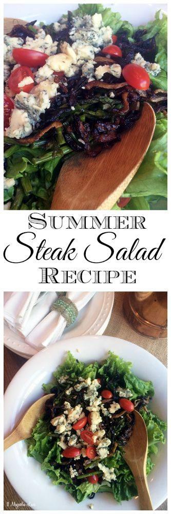 Summer grilled steak salad recipe   11 Magnolia Lane