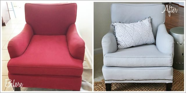 before after painted chair