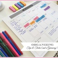 11 Magnolia Lane Calendar Pad & More Organizing Tips