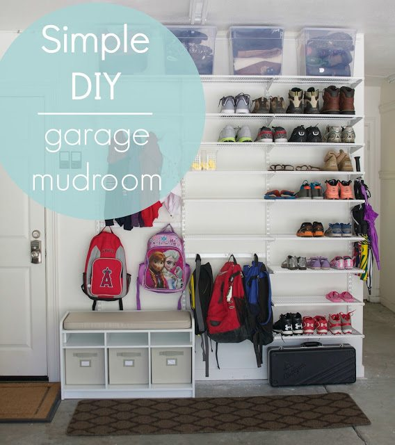 A Perfectly Organized Mudroom Just A Girl And Her Blog
