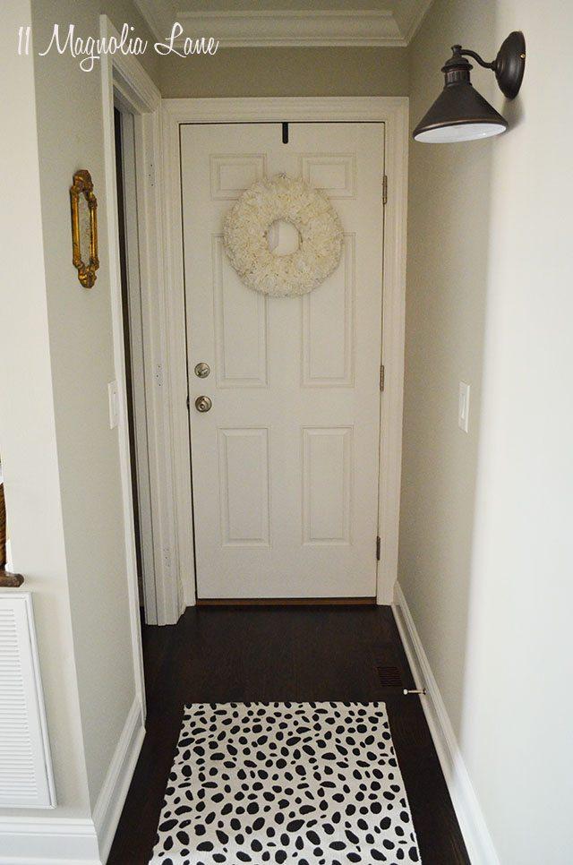 Black and white dalmatian spot rug | 11 Magnolia Lane