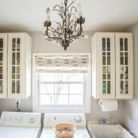 Beautiful laundry room on a budget from Operation: Organization